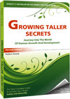 How to grow taller naturally. Growing Taller Secrets book describes ways to grow taller without using any drugs or chemicals